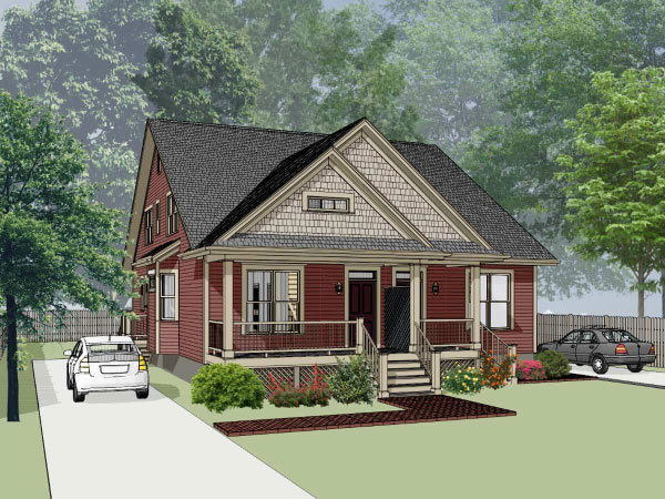 Country Style House Plans Plan: 16-280