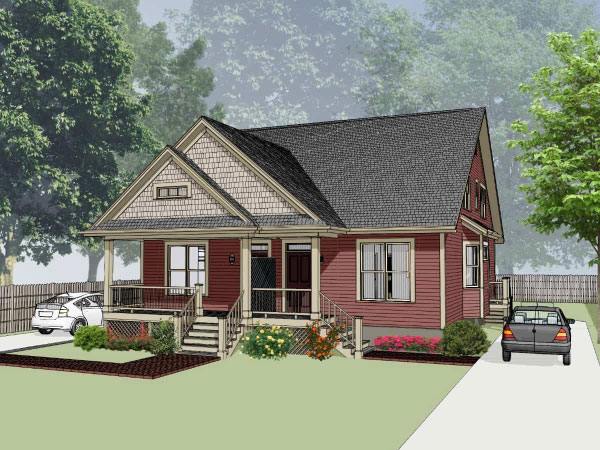 Country Style Home Design