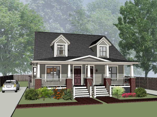Craftsman Style Floor Plans 16-283