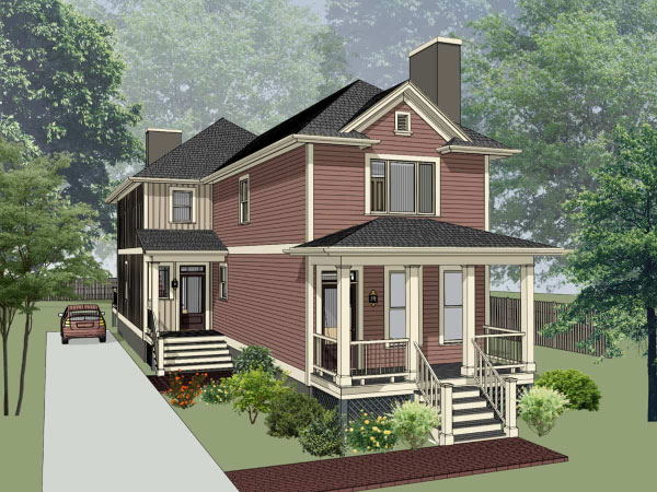 Southern Style Floor Plans Plan: 16-285