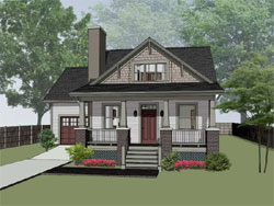Craftsman Style House Plans Plan: 16-289