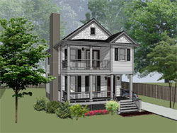 Southern Style House Plans Plan: 16-294
