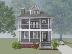 Southern Style Floor Plans Plan: 16-295