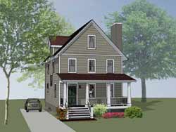 Country Style House Plans 16-296