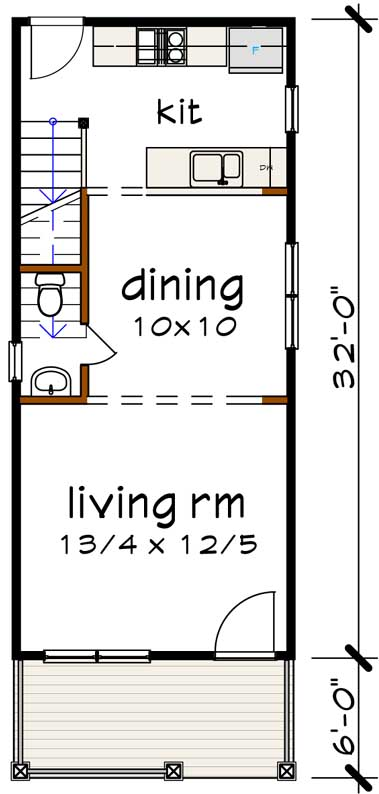 Main Floor Plan: 16-307