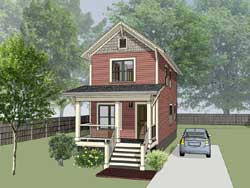 Craftsman Style House Plans 16-307