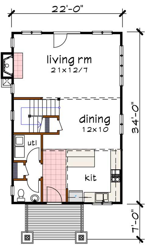 Main Floor Plan: 16-310