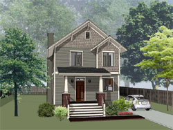 Craftsman Style House Plans 16-310