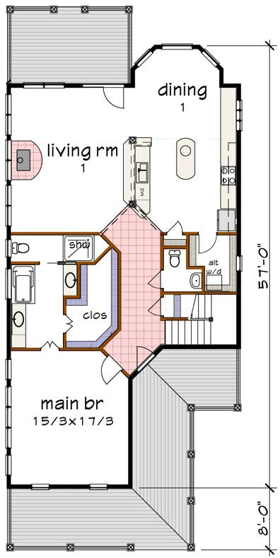 Main Floor Plan: 16-311