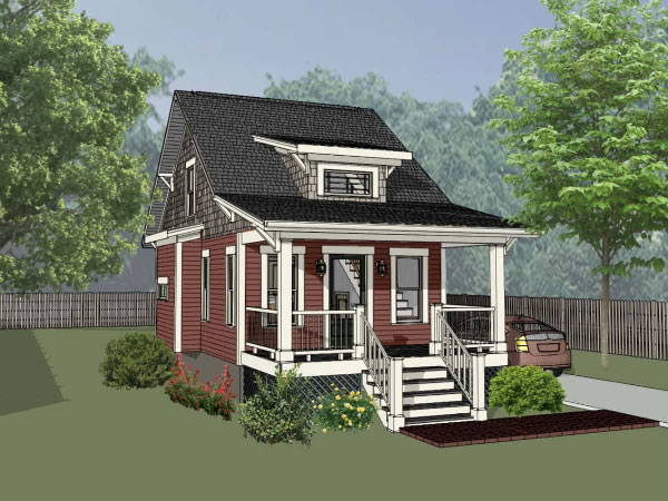 Bungalow Style House Plans 16-312