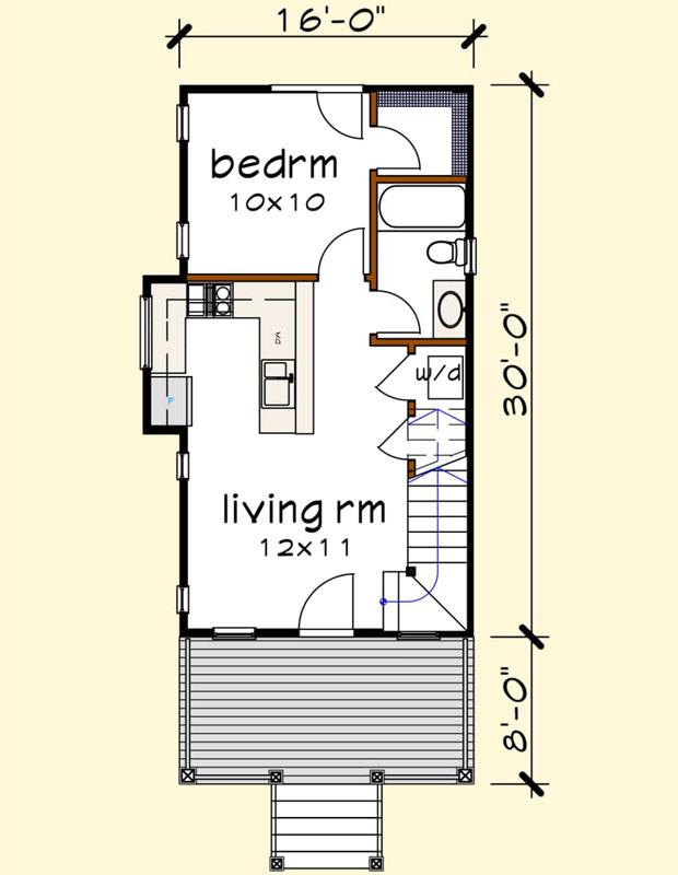 Main Floor Plan: 16-312