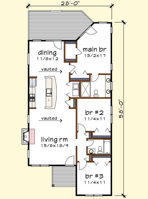 Main Floor Plan: 16-315