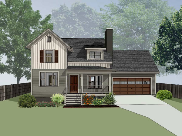 Modern-farmhouse Style Floor Plans Plan: 16-317