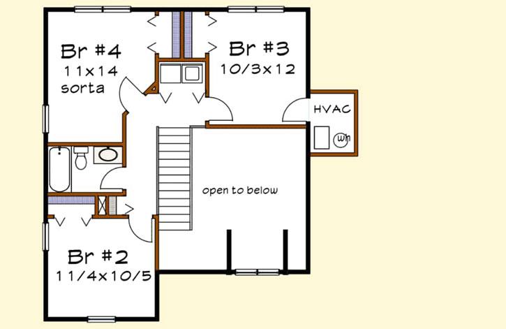 Upper/Second Floor Plan: 16-317