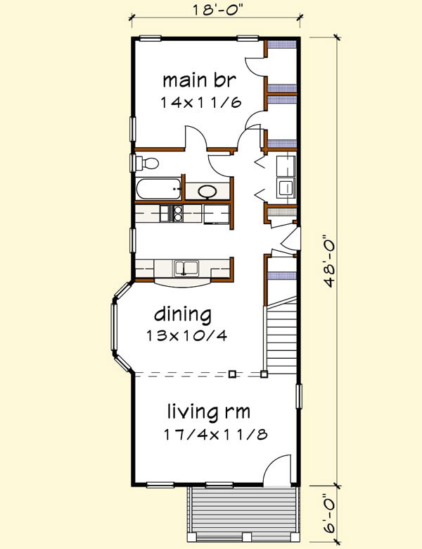 Main Floor Plan: 16-318