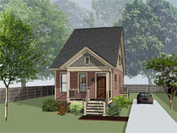 Cottage Style Floor Plans 16-318