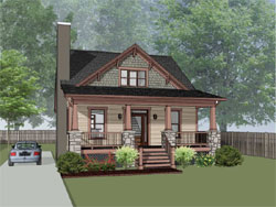 Craftsman Style Floor Plans 16-324