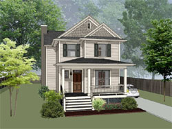 Southern Style Floor Plans Plan: 16-328