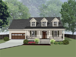 Country Style Floor Plans 16-330