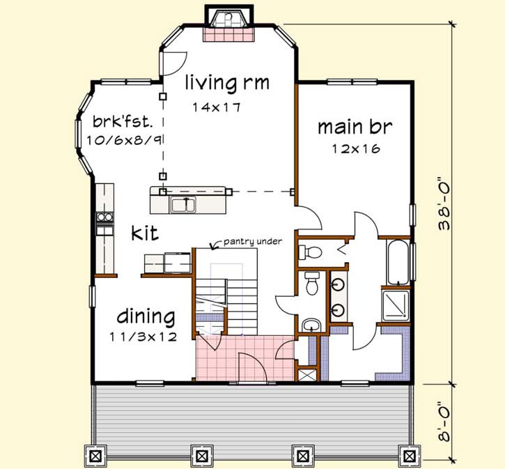 Main Floor Plan: 16-331