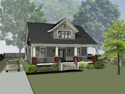 Craftsman Style House Plans 16-331