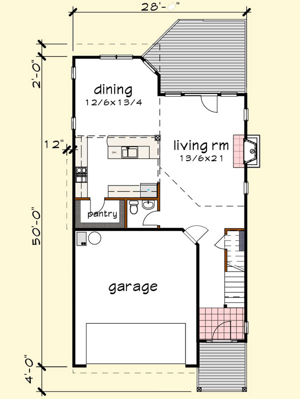 Main Floor Plan: 16-332