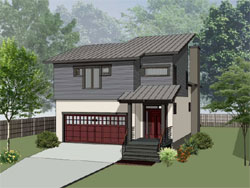 Contemporary Style Floor Plans 16-332