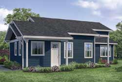 Traditional Style House Plans Plan: 17-1013