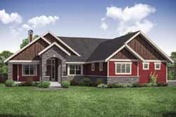 Craftsman Style House Plans Plan: 17-1016
