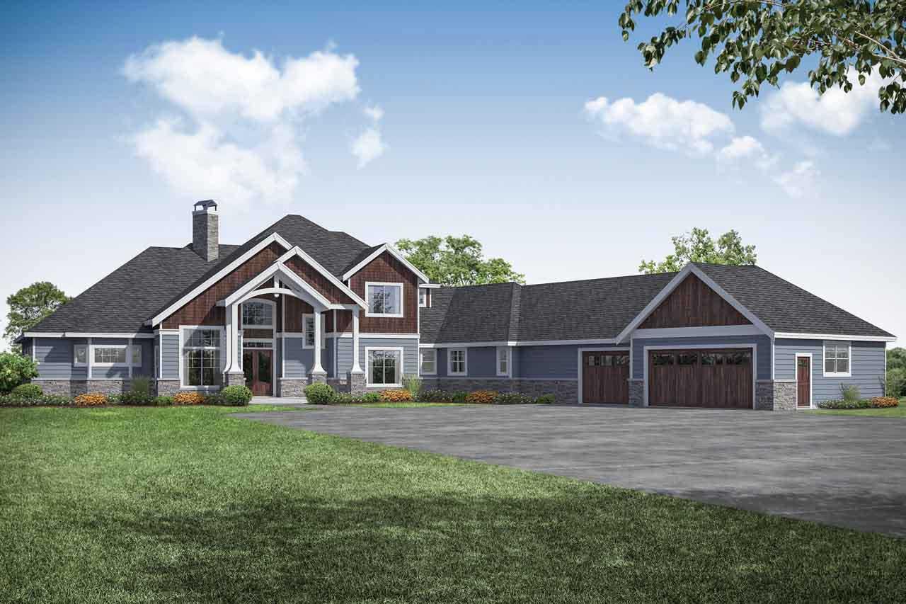 Craftsman Style House Plans Plan: 17-1031