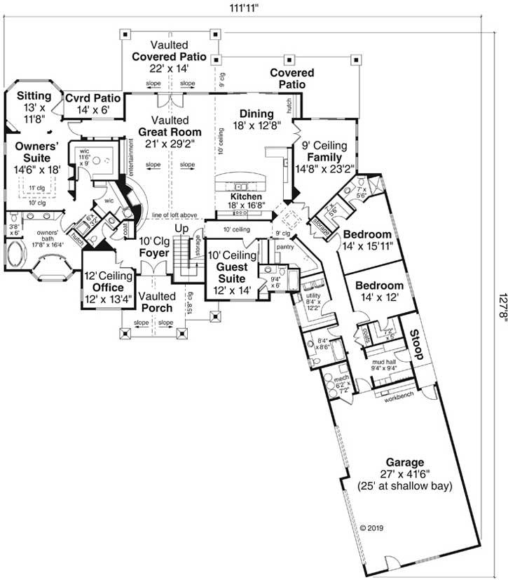 Main Floor Plan: 17-1031