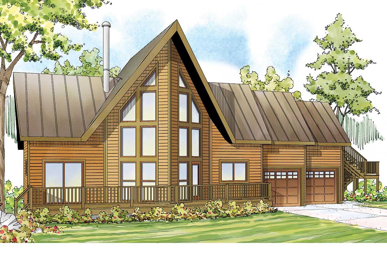 Contemporary Style Home Design Plan: 17-1043