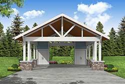 Craftsman Style House Plans Plan: 17-1052