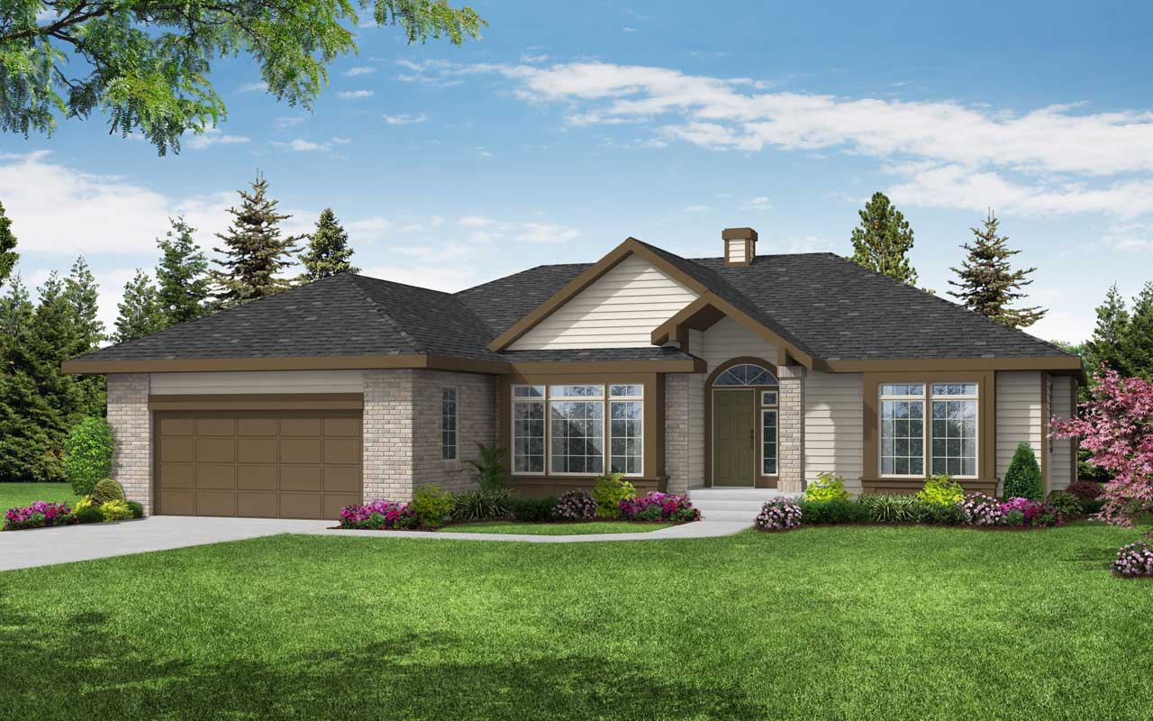 Northwest Style House Plans Plan: 17-108
