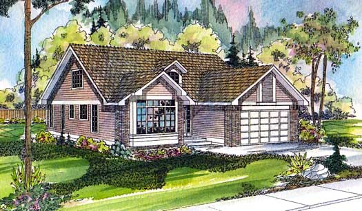 Traditional Style House Plans Plan: 17-109