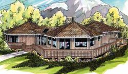 Contemporary Style House Plans Plan: 17-111