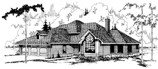 Northwest Style Floor Plans Plan: 17-113