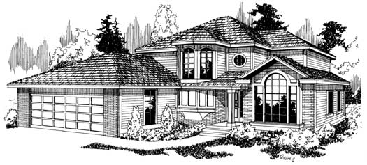 Northwest Style Floor Plans 17-115
