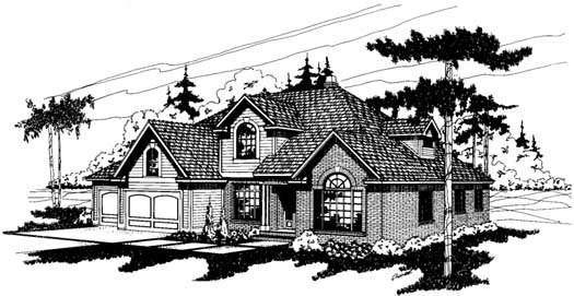 Northwest Style House Plans Plan: 17-120