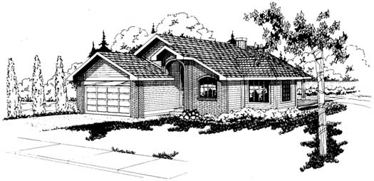 Northwest Style House Plans Plan: 17-121
