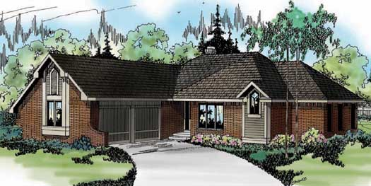 Traditional Style Floor Plans Plan: 17-123