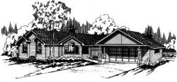 Ranch Style House Plans Plan: 17-126
