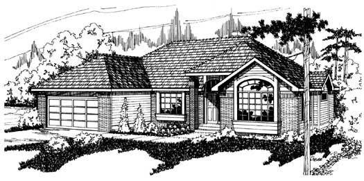 Northwest Style House Plans Plan: 17-127