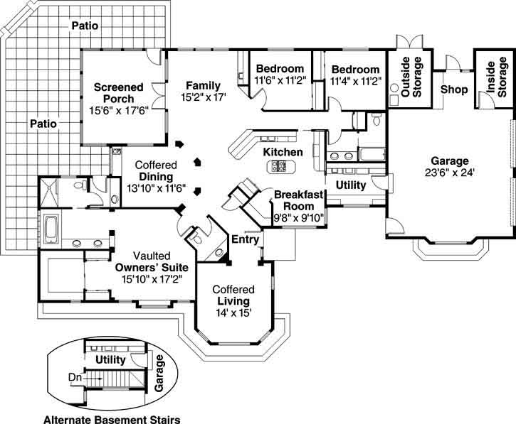 Main Floor Plan: 17-139