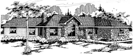 Ranch Style House Plans Plan: 17-140