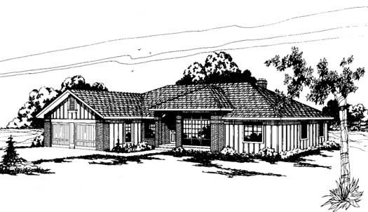 Northwest Style Floor Plans Plan: 17-142
