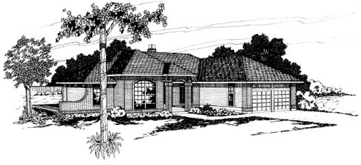 Traditional Style Floor Plans Plan: 17-143