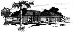 Traditional Style House Plans Plan: 17-143
