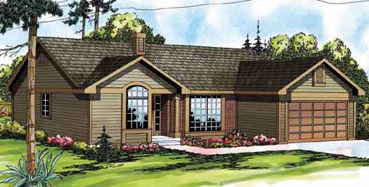 Traditional Style Home Design Plan: 17-147