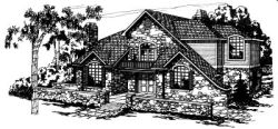 European Style Floor Plans Plan: 17-150